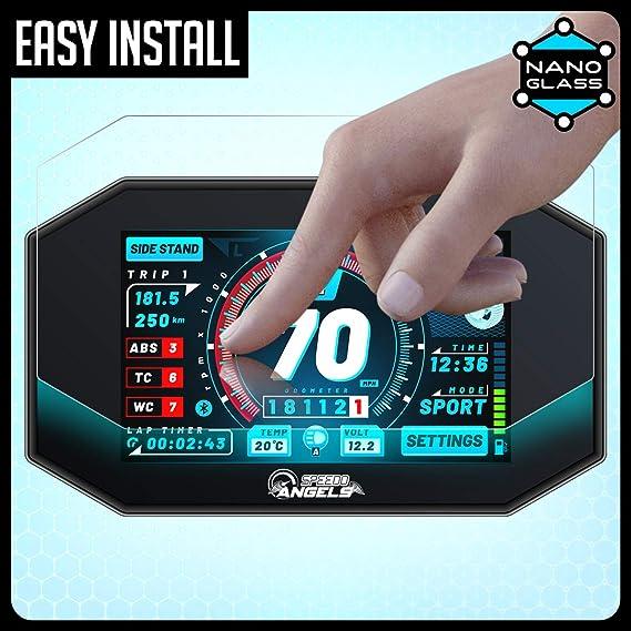 Speedo Angels Displayschutzfolie Tachoschutzfolie Für Z900 2020 1 X Ultra Klar 1 X Entspiegelt Auto