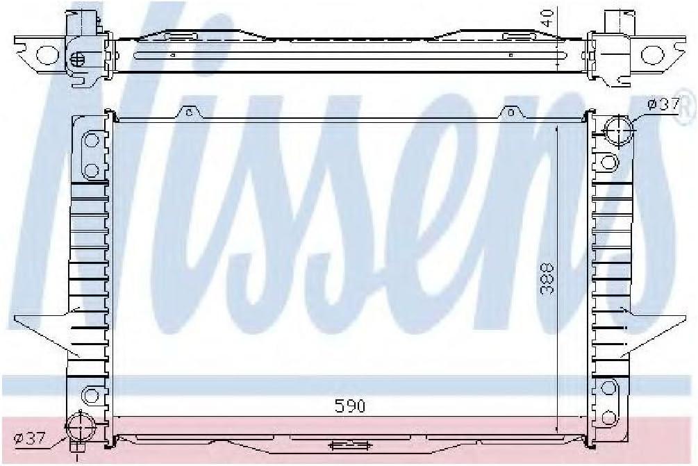 Motork/ühlung Nissens 65536A K/ühler