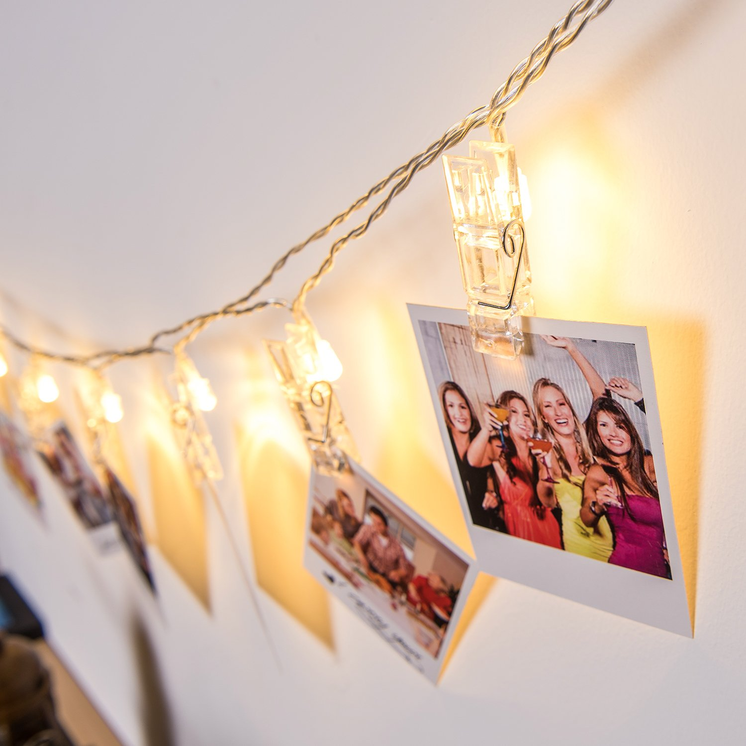 Photo Clips String Lights $10.