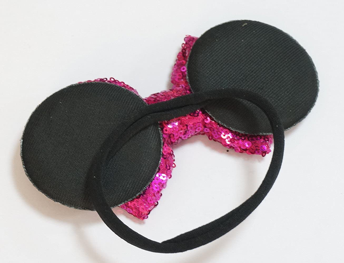 WINZIK Headwear Baby Boys Girls Kids Sequins Bowknot Ears Hairband Birthday Party Favor Princess Headband
