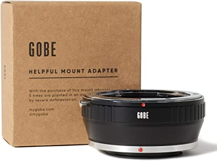 Camera Body C//Y M4//3 Gobe Lens Mount Adapter: Compatible with Contax//Yashica Lens and Micro Four Thirds