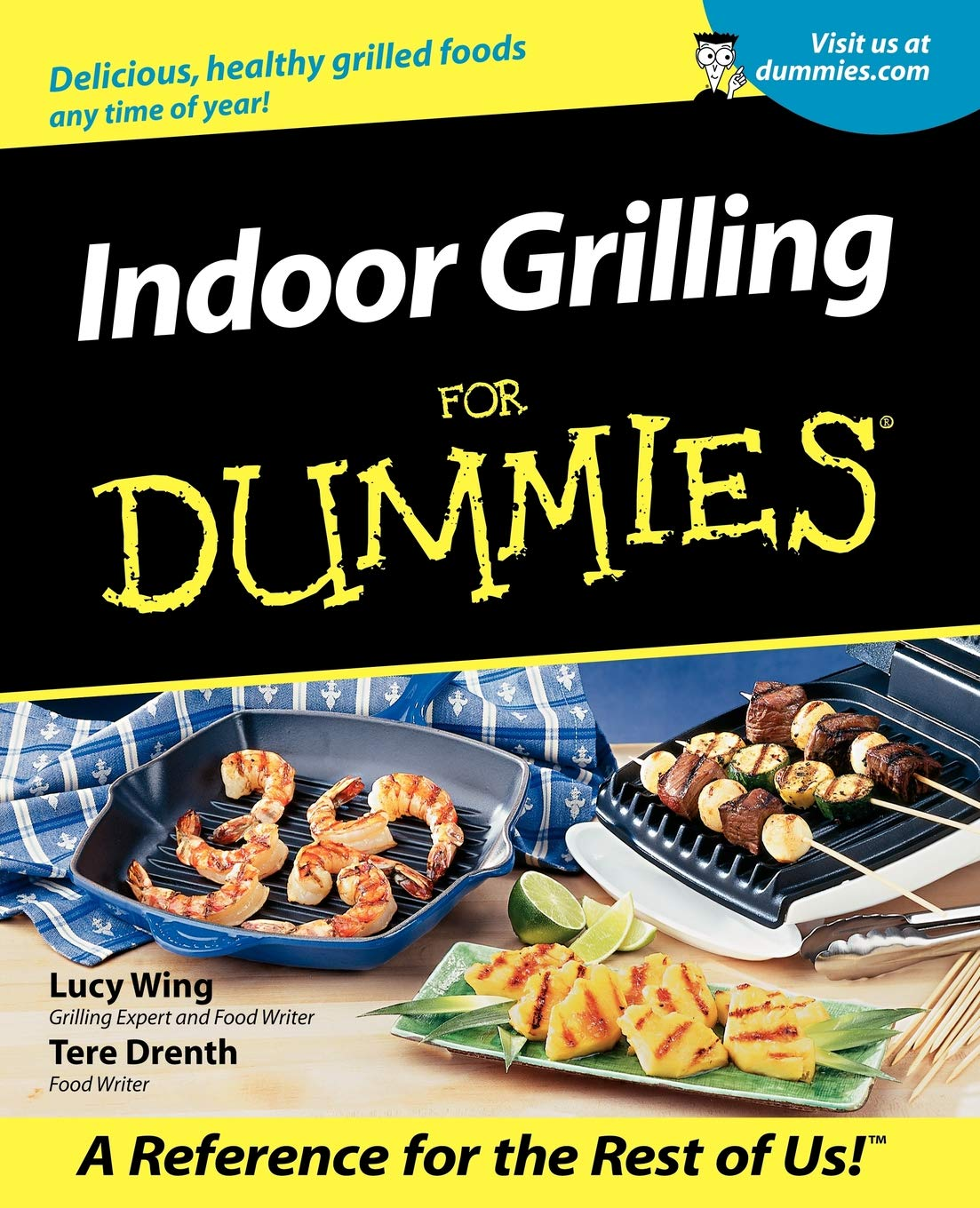 Indoor Grilling For Dummies by Brand: For Dummies