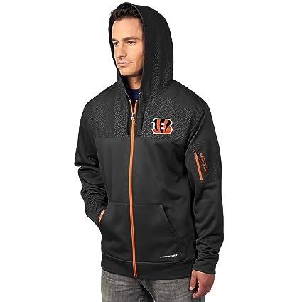 d5b9c401 Amazon.com : VF Cincinnati Bengals Majestic Action Men's F/Z Therma ...