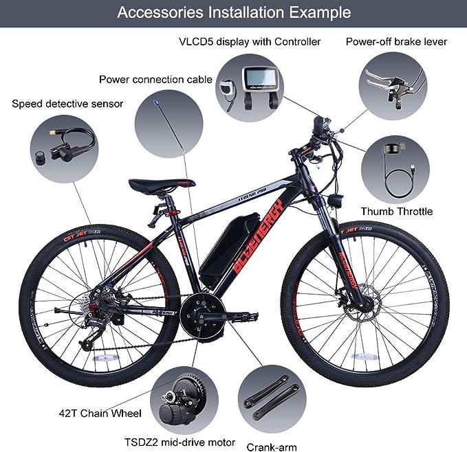 1*Torque Sensing Small Ring Bicycle Part Fits For Tong Sheng TSDZ 2 Center Motor