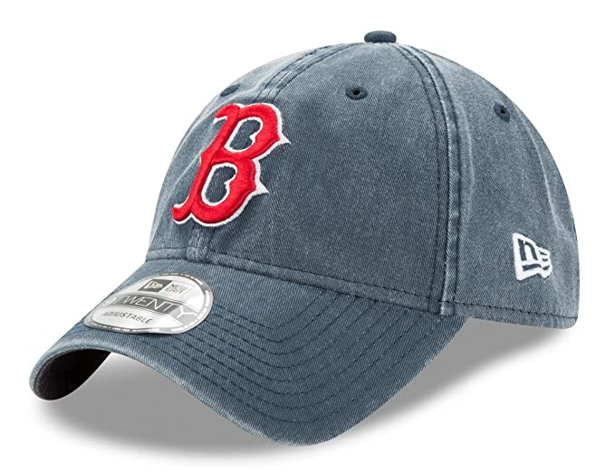low priced 1eb11 23e51 ... official boston red sox new era mlb 9twenty quotrugged washquot  adjustable hat 6a61c 59c6b