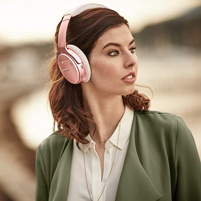 Bose QuietComfort 35 II 主动降噪无线蓝牙耳机 玫瑰金限定版 6.3折$220史低 海淘转运到手约¥1579