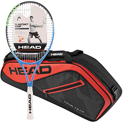 Head Ti.Instinct Comp Pre-Strung Tennis Racquet (Grip Size 4 1/