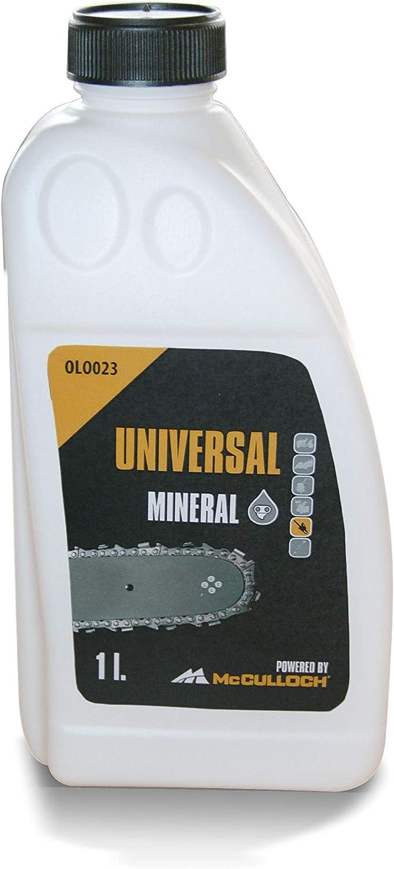 Universal GM577616423, OLO023 adhesivo para cadenas para motosierras,alto efecto lubricante, a base de aceites minerales, biodegradable, Standard, 1 L