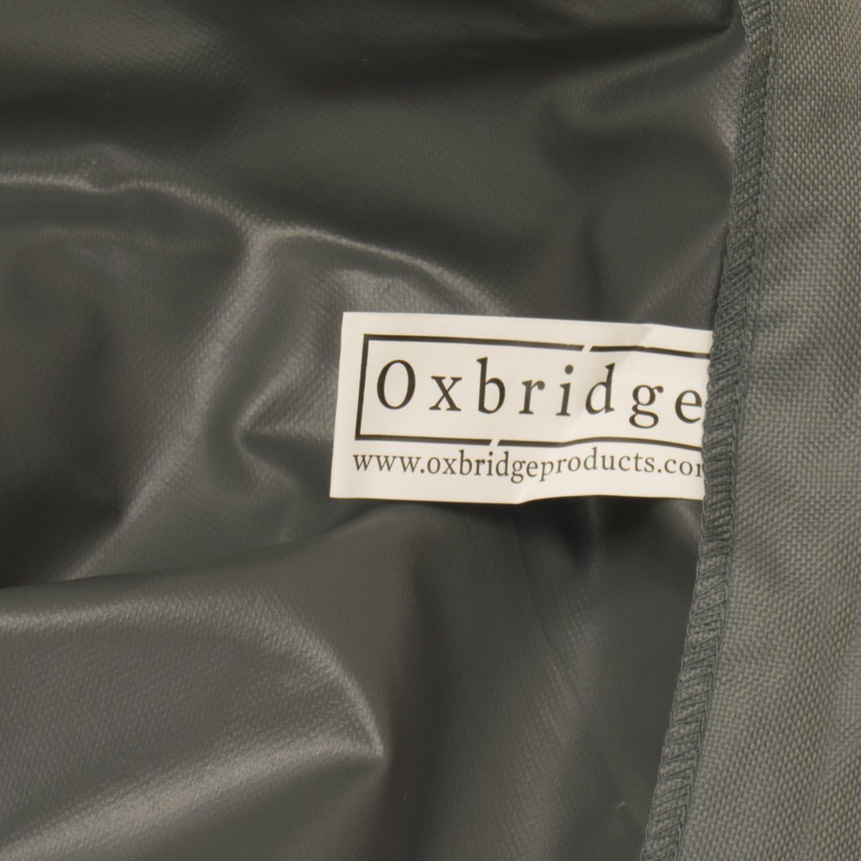 5 Jahre Garantie Schutzh/ülle f/ür Sonnenschirm wasserdicht extragro/ß OXBRIDGE grau