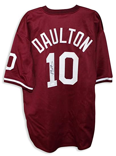 big sale 2c581 f2801 Darren Daulton Philadelphia Phillies Autographed Maroon ...