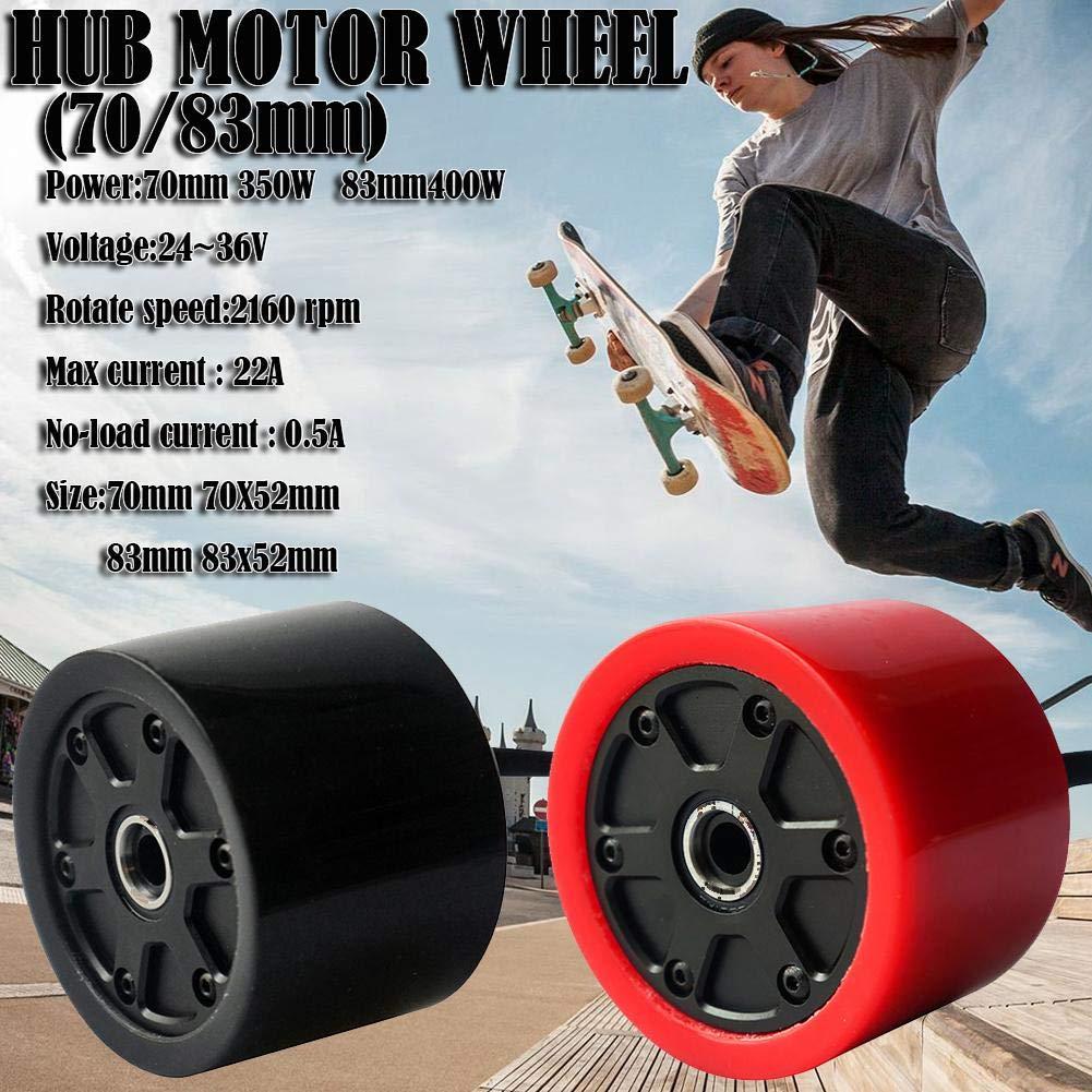 Purelemon 70mm 80mm Electric Skateboard Brushless Motor Wheels Kits Electric Motor Wheels for Skateboard Longboard E-Skateboard High Rotate Speed Internal Resistance High Power by Purelemon (Image #5)