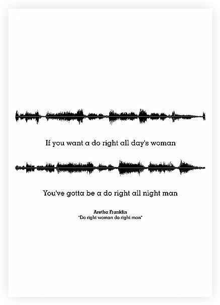 Posterhouzz Aretha Franklin Do Right Woman Do Right Man Lyrics