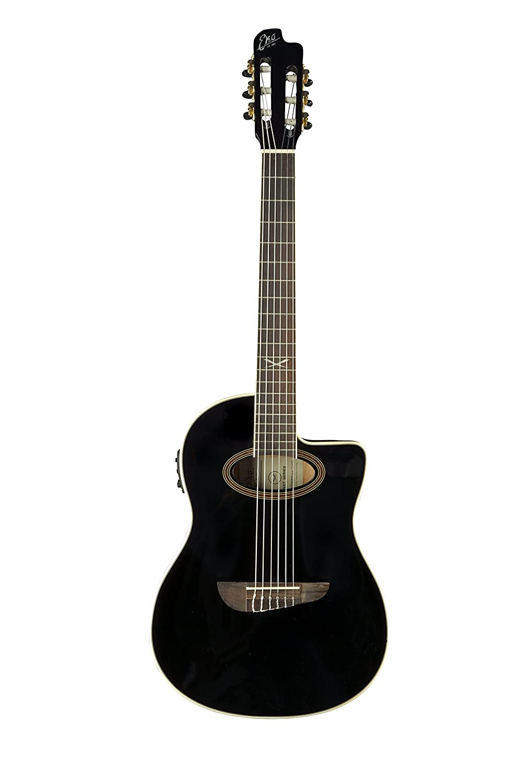 EKO guitarras 06217035 NXT Serie Guitarra Electroacústica clásica, negro: Amazon.es: Instrumentos musicales