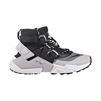 e18ef581fe80c Nike Mens Huarache GRIPP Sneakerboot Atmosphere Grey Black Vast Grey  AO1730-004 Size