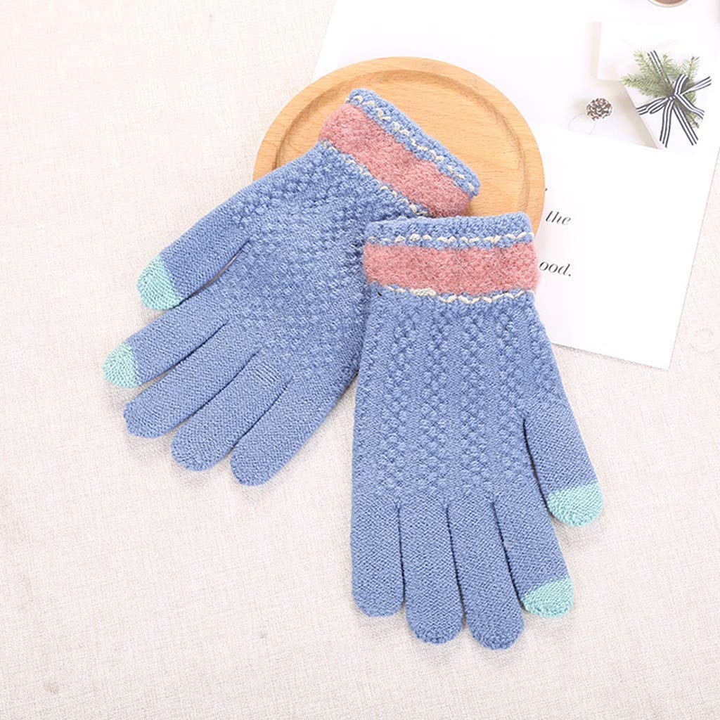 SANKE Lady Winter Warm Multi-Function Gloves Hand for Touch Screen Soft Mitten