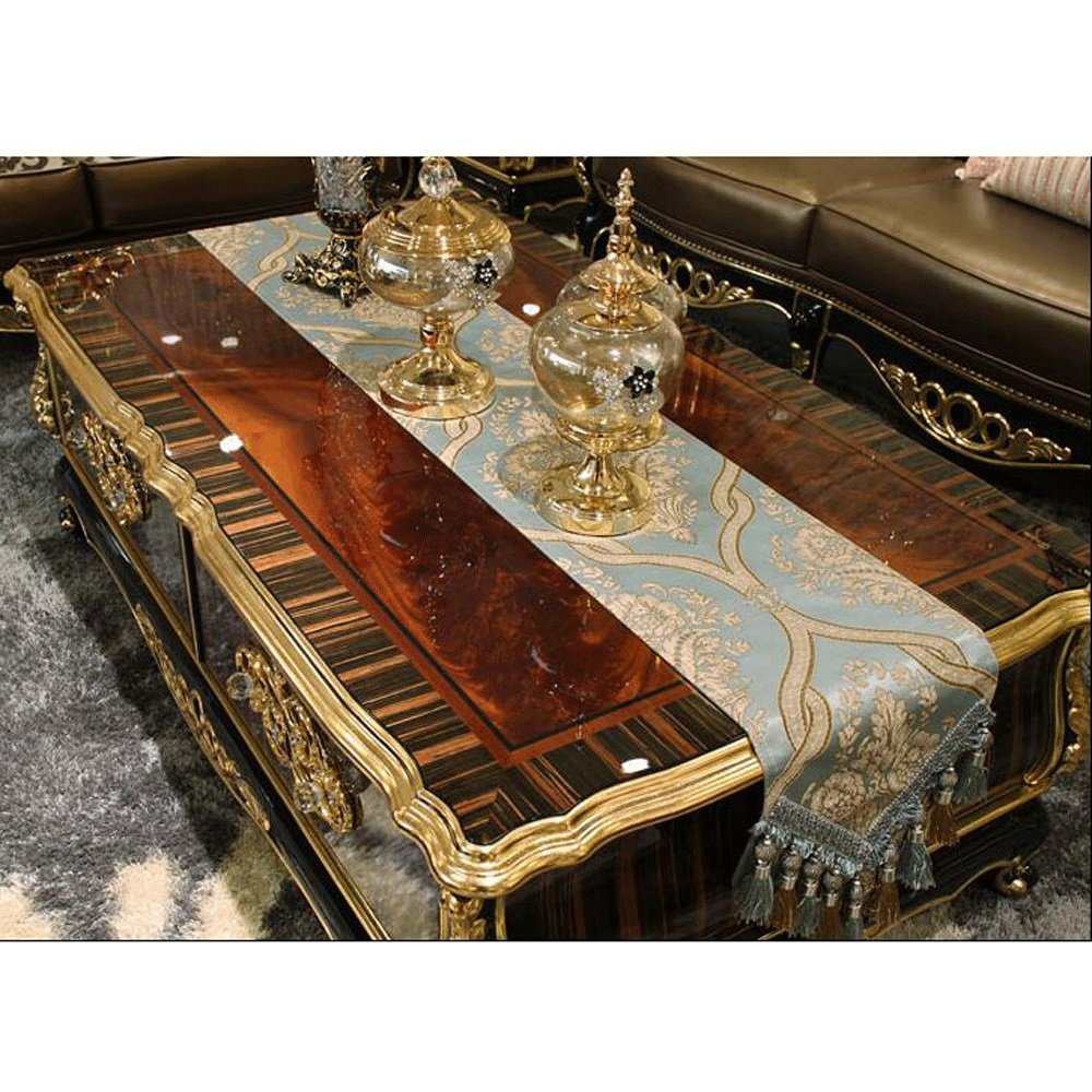 moda TABLE RUNNER Pride Pride Pride S Blue Jacquard Tela Antideslizante Hotel Family Decoración de Mesa Runner (Tamaño : 30  183cm)  Esperando por ti