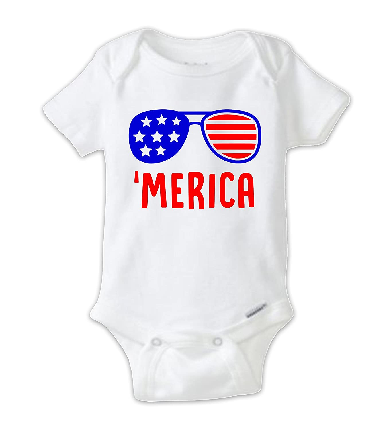 03a70ea7 Juju Apparel Labor Day Onesie, Labor Day Baby Shirt, Merica Onesie Baby  Bodysuit