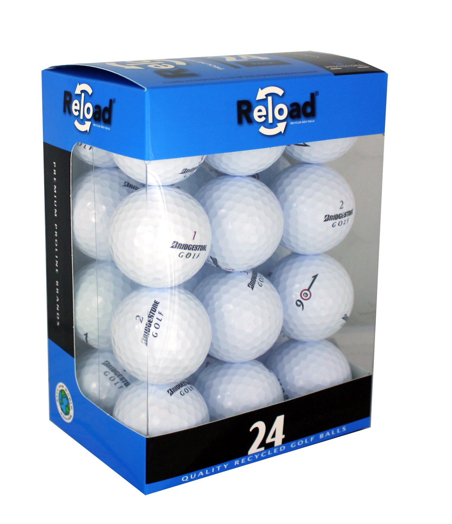 Bridgestone Reload Recycled Golf Balls (24-Pack) of Golf Balls