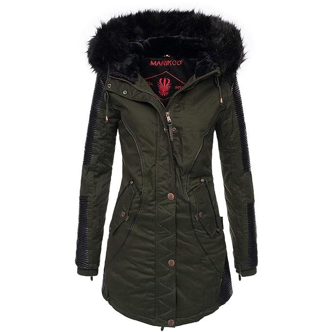 riesige Auswahl an Shop für echte schönes Design Marikoo designer ladies winter parka, warm winter jacket ...