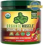 Organic Pre Workout Powder– Natural Vegan Keto Pre-Workout & Organic Energy