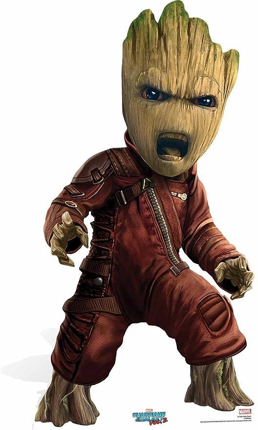Guardians of the Galaxy Marvel Silueta de cartón de Groot ...