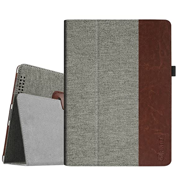 Fintie iPad 2/3 / 4 Hülle Case - Folio Slim Fit Stoff Schutzhülle Cover Tasche Etui mit Auto Schlaf/Wach Funktion für Apple i