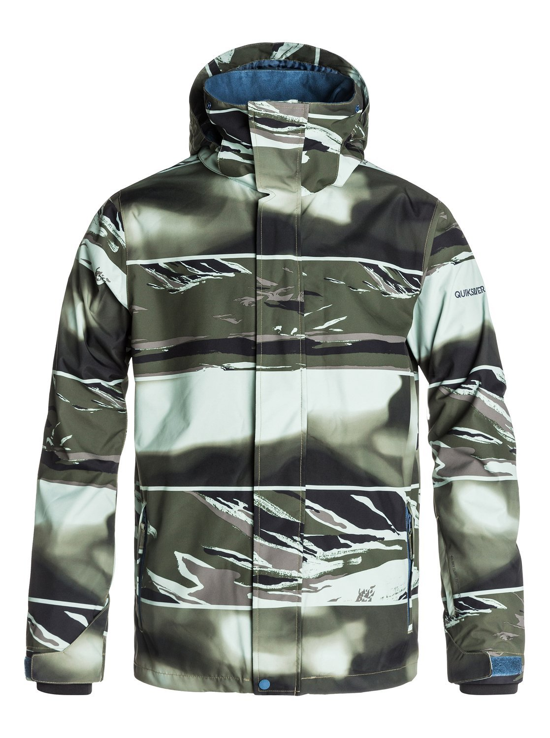 Quiksilver Mens Mission Printed Shell - Snowboard Jacket Snowboard Jacket