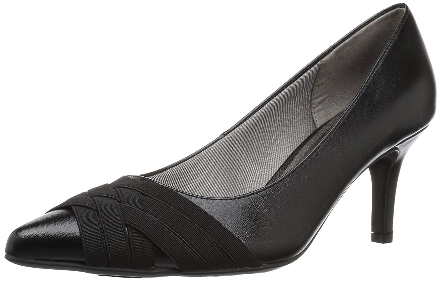 LifeStride Women's Sentiment Dress Pump B06XRSTXL6 10 W US|Black