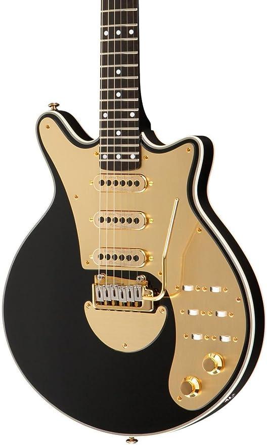 Brian May Guitarra Brian May firma guitarra eléctrica,