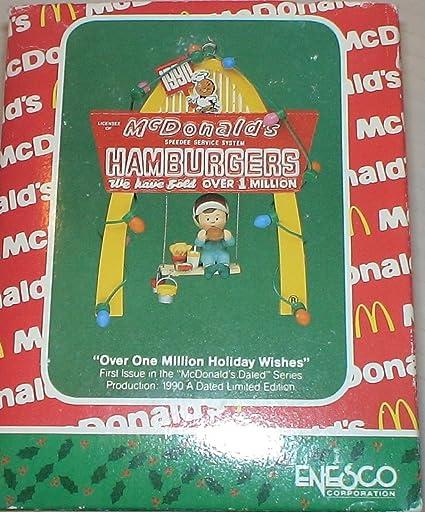 Vintage Mcdonalds Christmas Ornament 'Over One Million Holiday Wishes - Amazon.com: Vintage Mcdonalds Christmas Ornament 'Over One Million