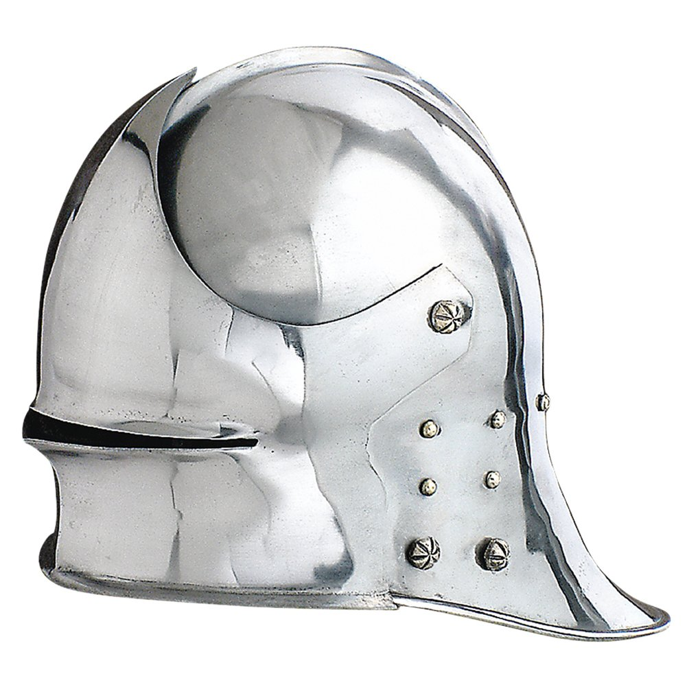 NAUTICALMART Armor Men's German Visored sallet Helmet