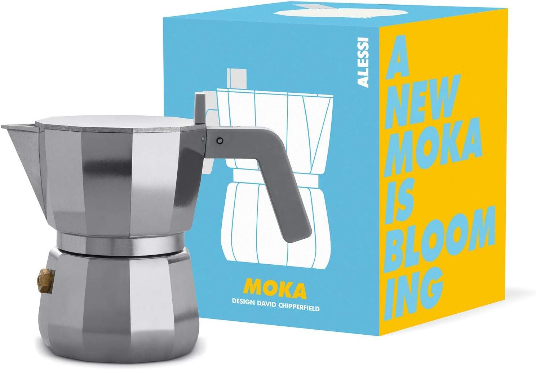 Alessi DC06/3 Cafetera expreso, aluminio: Amazon.es: Hogar