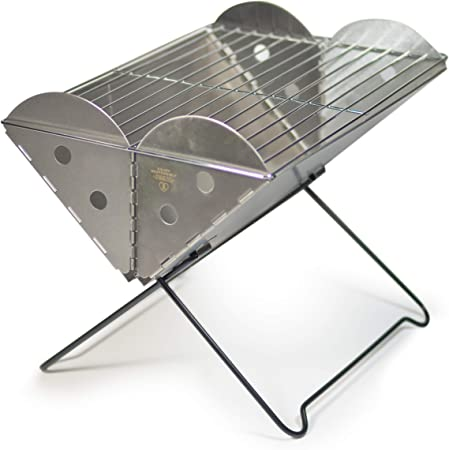 UCO Flatpack Portable Grill and Fire Pit