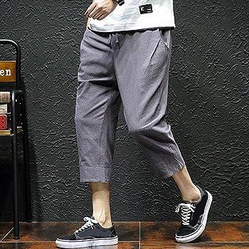 VPASS Pantalones Hombre Verano Moda Casual Impresión Pantalones ...
