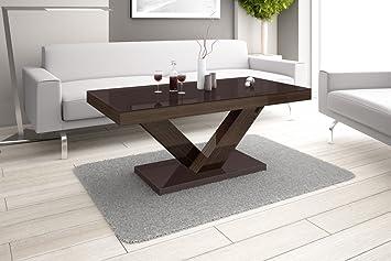 Super Furniture24eu Couchtisch Victoria Mini Super Hochglanz Acryl