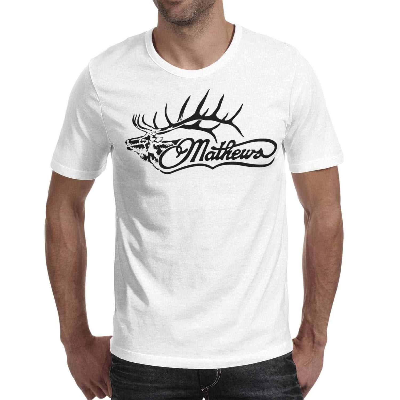 S Guys O Neck Short Sleeve Champion Mathews Ary Logo T Shirts Tee 8225