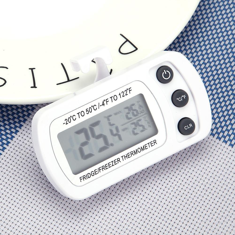 Termómetro digital de refrigerador, termómetro de congelador de ...