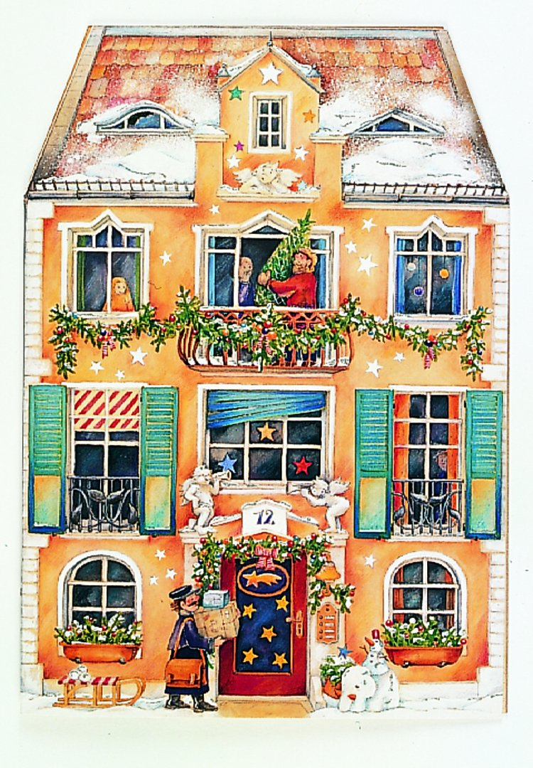 Calendrier de l'Avent Coppenrath « In the Christmas house » - Grand dépliant - Traditionnel