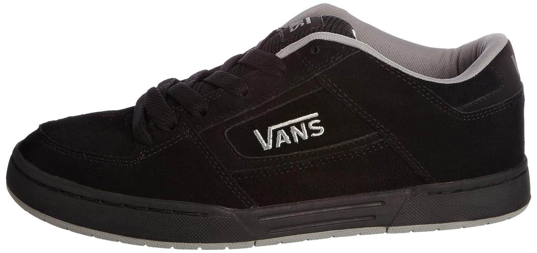 vans black and grey
