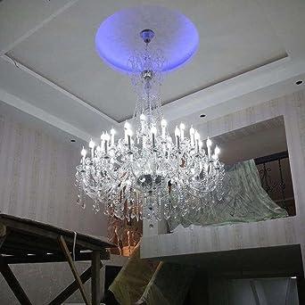 New Elegant Crystal Chandelier Lighting, 9 Lights, Shades Included,, H32