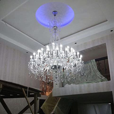 Poersi large chandelier lighting industrial large foyer crystal chandeliers modern crystal chandelier lighting for big hall