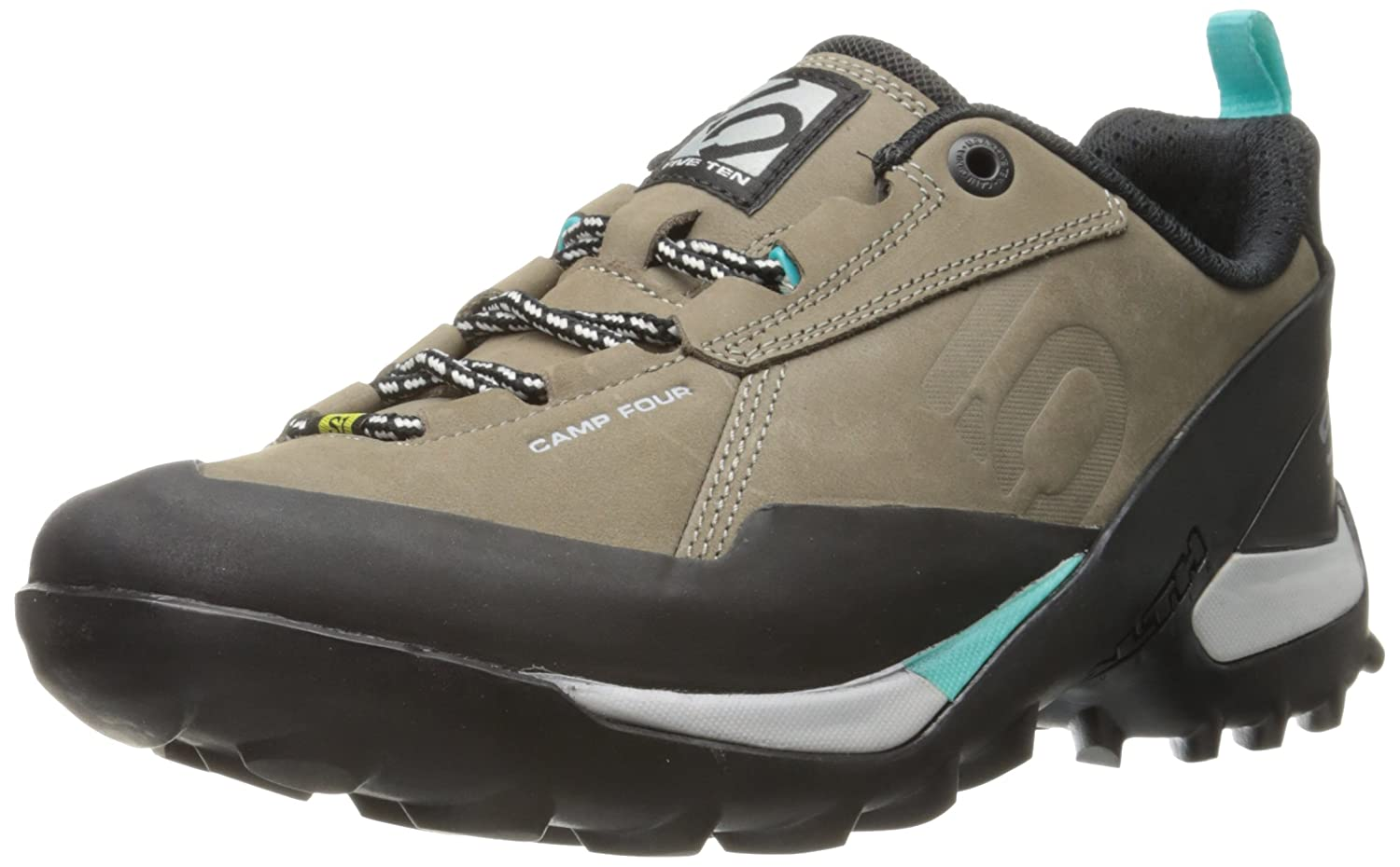 Five Ten Women's Camp Four Hiking Shoe B00IDPPQBC 8.5 B(M) US|Brown/Mint