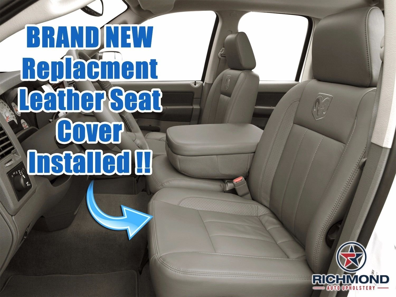2009 Dodge Ram 1500 Leather Seat Covers Velcromag