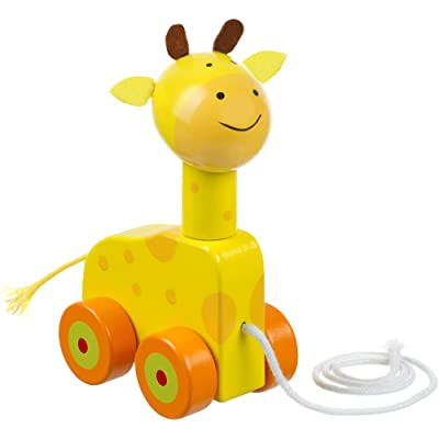 Orange Tree Toys Pull Along Giraffe : Baby