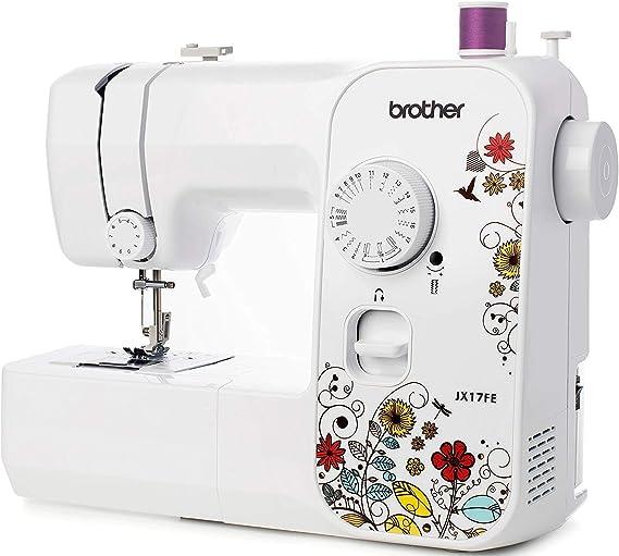 Brother JX17FE (Fantasy Edition) - Máquina de Coser Eléctrica, Portátil, 17 Puntadas de Costura, Fácil de Usar y Práctica: Amazon.es: Hogar
