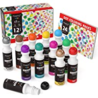 Magicfly 12 Colores Dot Marcadores Dot Markers Lavable