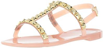 eca986cb1 Amazon.com  Stuart Weitzman Women s JELROSE Flat Sandal  Shoes