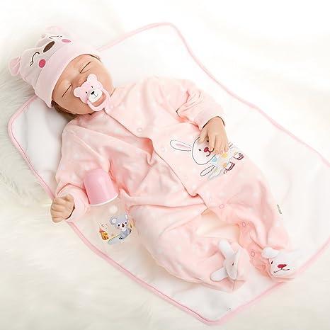 Fachel Reborn Doll muñeca Realista de Silicona muñeca Bebe ...