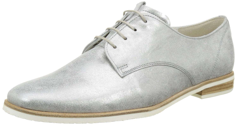 Gabor Shoes Comfort, Zapatos de Cordones Derby para Mujer 37 EU|Gris (Steel 61)