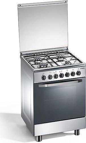Regal RC663XSN Cocina independiente Encimera de gas A Acero inoxidable cocina